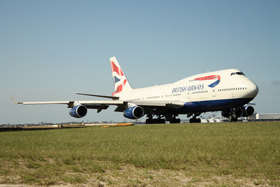 G-BNLF BRITISH AIRWAYS B747-400