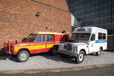 Range-Rover Commando Fire/Crash Tender