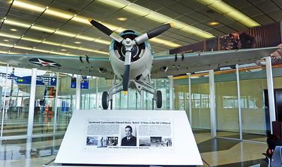 Butch O'Hare F4F Wildcat memorial