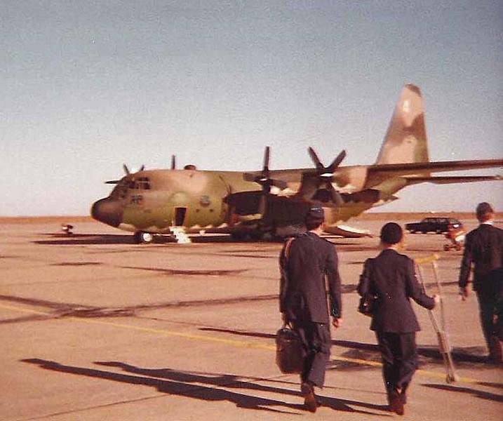 C-130 at Forbes ANGB