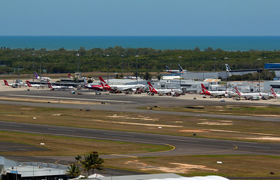 Cairns airport peak time