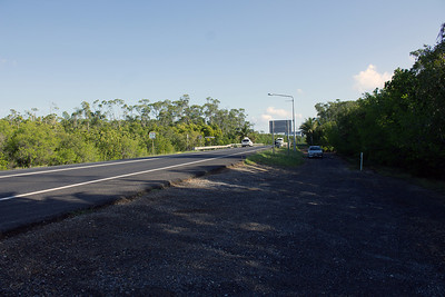 3. AIRPORT ACCESS ROAD #2 good all day. photo taken facing towards the airport.