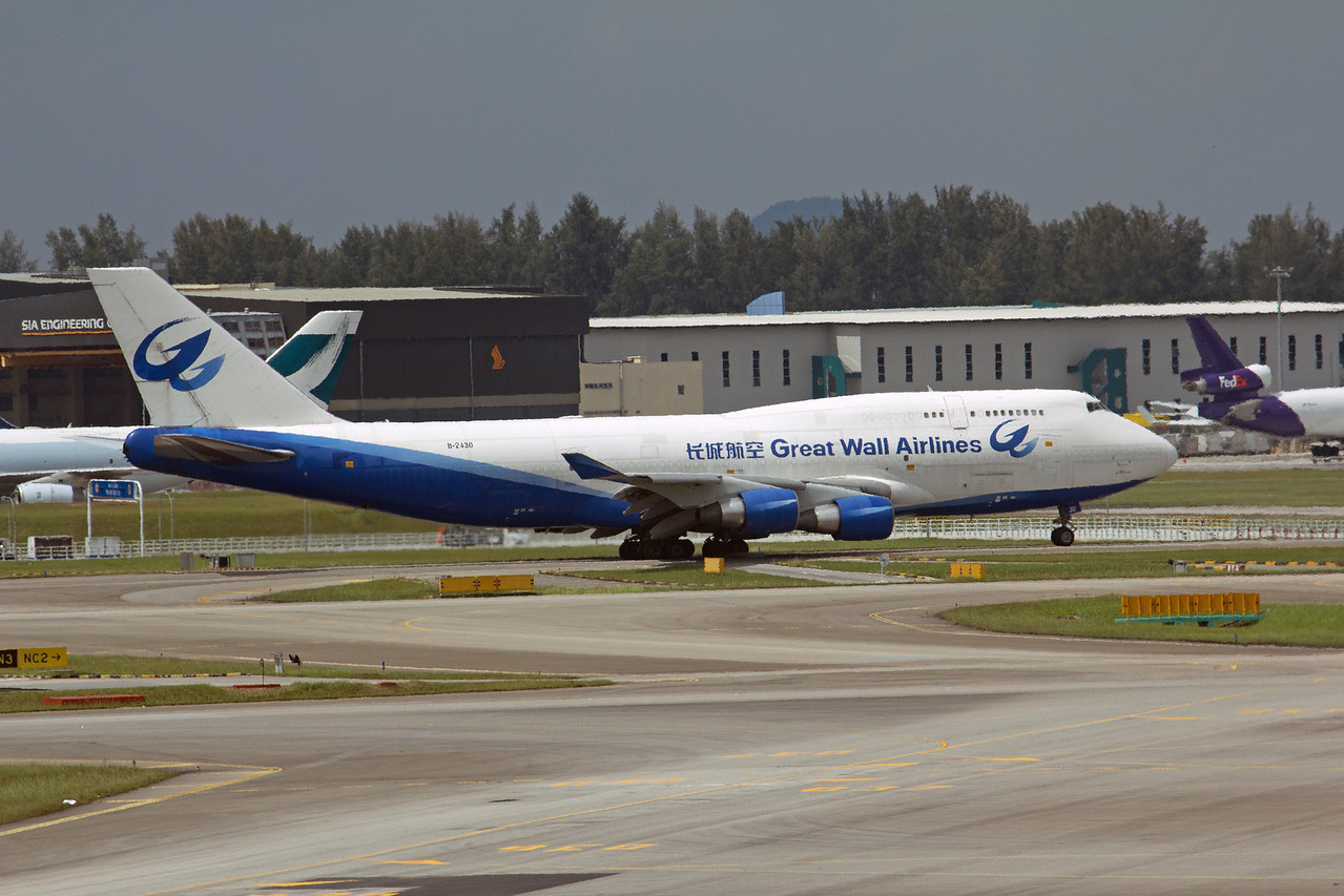B-2430 GREAT WALL AIRLINES B747-400