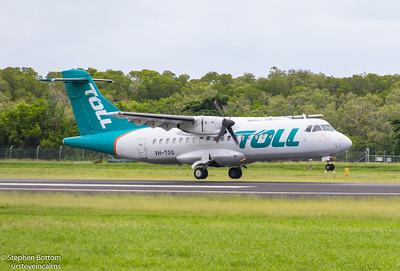 VH-TOQ TOLL CARGO ATR-42