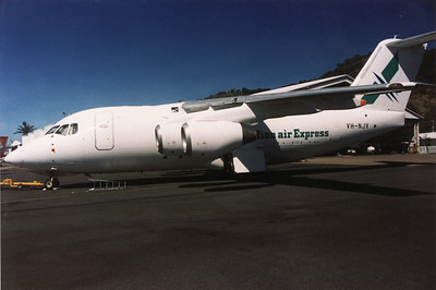 VH-NJV AUSTRALIAN AIR EXPRESS BAe-146