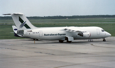 VH-NJF AUSTRALIAN AIR EXPRESS BAe-146