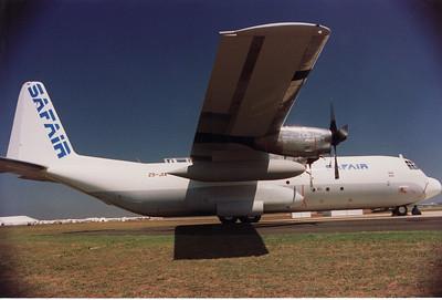 ZS-JIX SAFAIR LOCKHEED L-382G (C-130) HERCULES