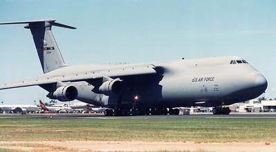 USAF C-5 GALAXY 70044 50TH AMW