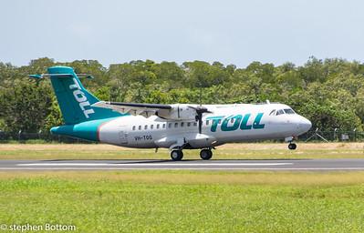 VH-TOQ TOLL ATR-42