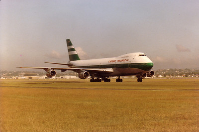 Cathay Pacific 747-200