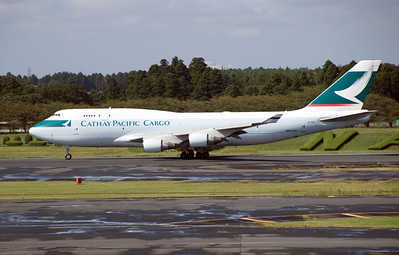 B-HKX CATHAY PACIFIC CARGO B747-400