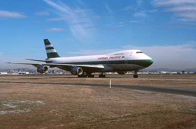 CATHAY PACIFIC B747-200