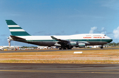 VR-HOW CATHAY PACIFIC B747-400