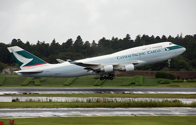 B-HKX CATHAY PACIFIC CARGO B747-400F