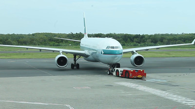 B-HLS CATHAY PACIFIC A330 Canon-1100D hd video.