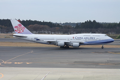 B-18212 CHINA AIRLINES 747-400