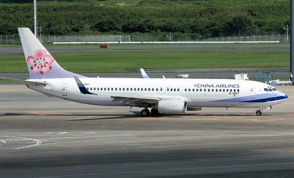 B-18617 CHINA AIRLINES B737-800