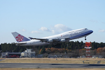 B-18206 CHINA AIRLINES 747-400