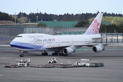 B-18215 CHINA AIRLINES 747-400