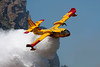 "the ""water bomber"" in action"