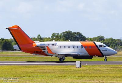 VH-XND SURVEILLANCE AUSTRALIA CL-60