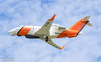 VH-XND AMSA RESCUE BOMBARDIER CL-600