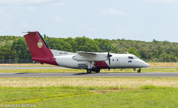 VH-ZZC BORDER FORCE DASH-8-200