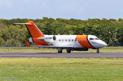 VH-XND AMSA BOMBARDIER CL-600