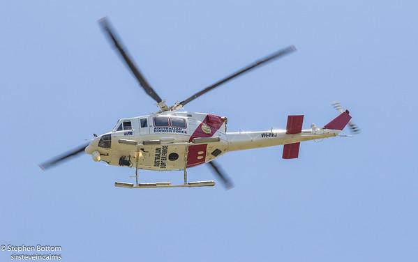 VH-RHJ BORDER FORCE BELL-412