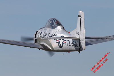 """North American Trojan T-28A"" ""Dual control jet fighter trainer"""