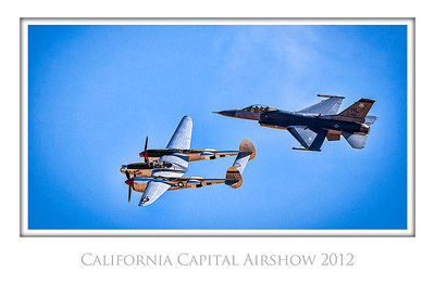 Heritage Flight, California Capital Airshow 2012