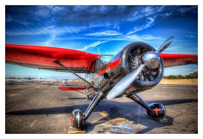 Auburn Airport Stinson