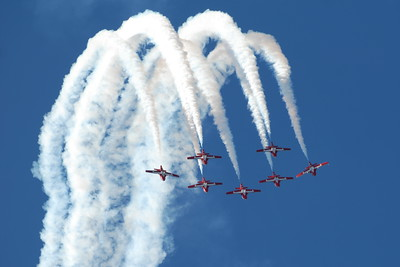 Canadair CT-114 Tutor - Snowbirds - Wings Over Waukegan - Waukegan, Illinois - Photo Taken: September 8, 2012