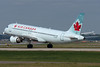 Air Canada A320 rotating from 24L.