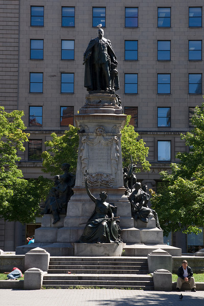Some statue in Montreal.