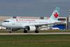 Airbus A319 lifting up at Montreal.