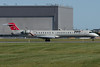 NWA Airlink CRJ-700 arriving at Montreal.
