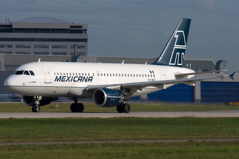 Rolling down the runway at Montreal for this Airbus A320.