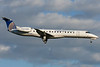 Continental Express Embraer on final for 24R at Montreal.