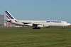 Air France's A340 arriving at Montreal.