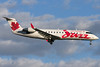 Air Canada Jazz CRJ on final to 24R at Montreal.