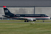 US Airways Express Embraer arriving at Montreal.