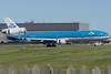 KLM MD-11 Ingrid Bergmann arriving at Montreal.