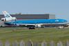 KLM MD-11 Ingrid Bergmann arriving at Montreal.