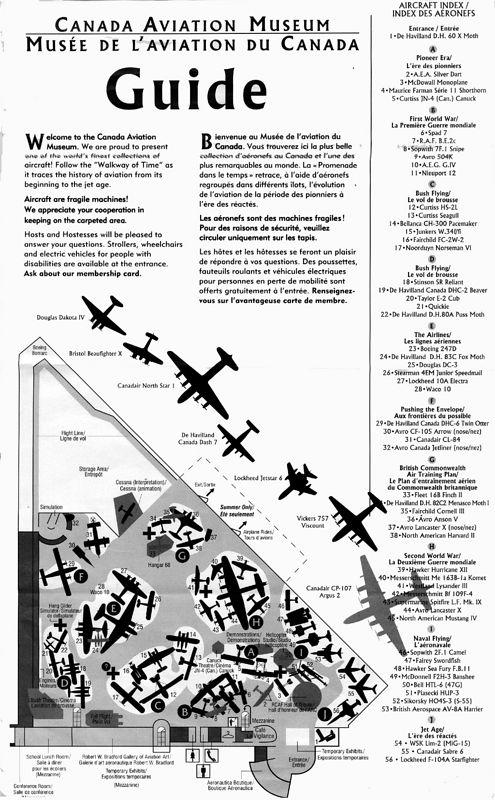 Floor Map per visit 2002-10-06.