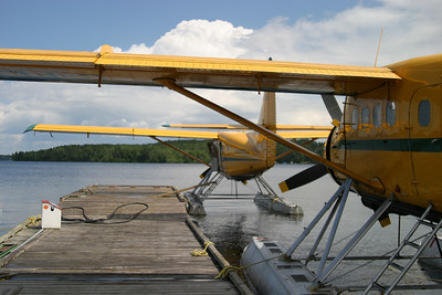 Green Airways Otter(s) at the dock, Red Lake
