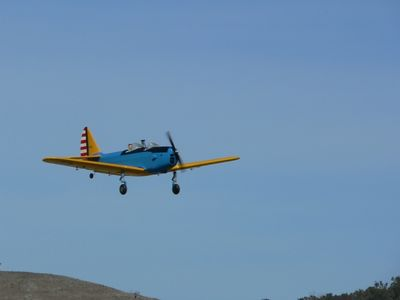 Bill Mansell's PT-19 on a low & slow flypast
