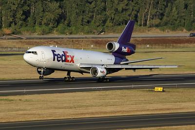 N390FE (cn 46624/155)   PDX - Portland International Airport  McDonnell Douglas MD-10-10F  FedEx