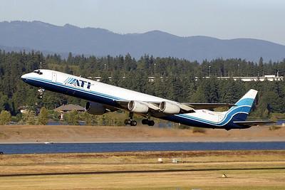 N828BX (cn 45993/382)  PDX - Portland International Airport  Douglas DC-8-71(F)  Air Transport International (ATI)