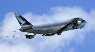 Cathay Pacific Cargo Boeing 747-200 B-HMD